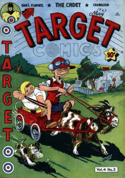 Cover for Target Comics (Novelty / Premium / Curtis, 1940 series) #v4#3 [39]