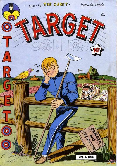 Cover for Target Comics (Novelty / Premium / Curtis, 1940 series) #v4#6 [42]