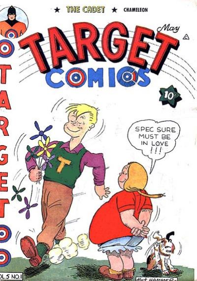 Cover for Target Comics (Novelty / Premium / Curtis, 1940 series) #v5#1 [49]