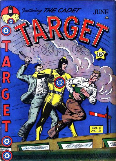 Cover for Target Comics (Novelty / Premium / Curtis, 1940 series) #v5#2 [50]