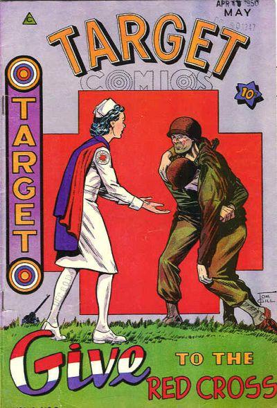 Cover for Target Comics (Novelty / Premium / Curtis, 1940 series) #v6#3 [59]