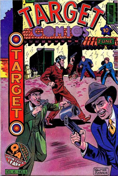 Cover for Target Comics (Novelty / Premium / Curtis, 1940 series) #v6#4 [60]