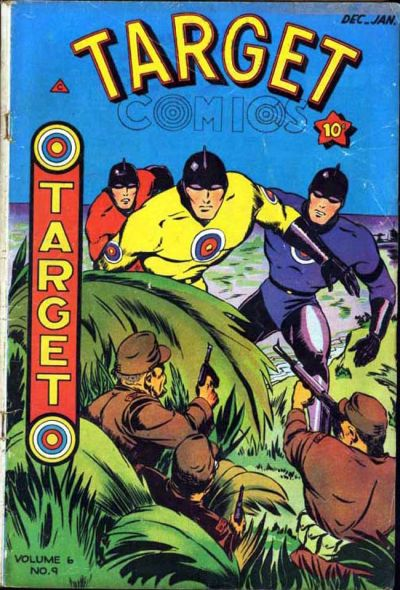 Cover for Target Comics (Novelty / Premium / Curtis, 1940 series) #v6#9 [65]