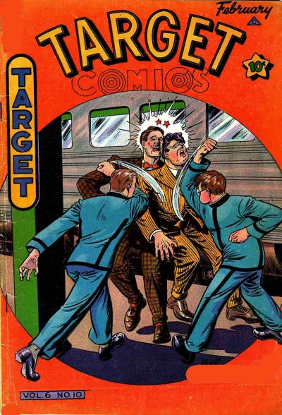 Cover for Target Comics (Novelty / Premium / Curtis, 1940 series) #v6#10 [66]