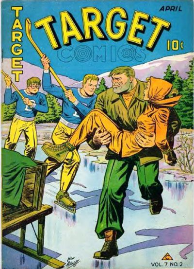 Cover for Target Comics (Novelty / Premium / Curtis, 1940 series) #v7#2 [68]