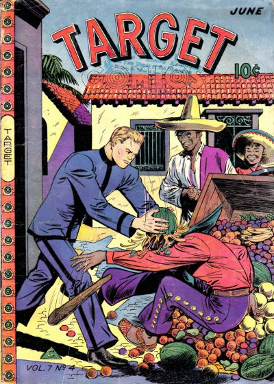 Cover for Target Comics (Novelty / Premium / Curtis, 1940 series) #v7#4 [70]