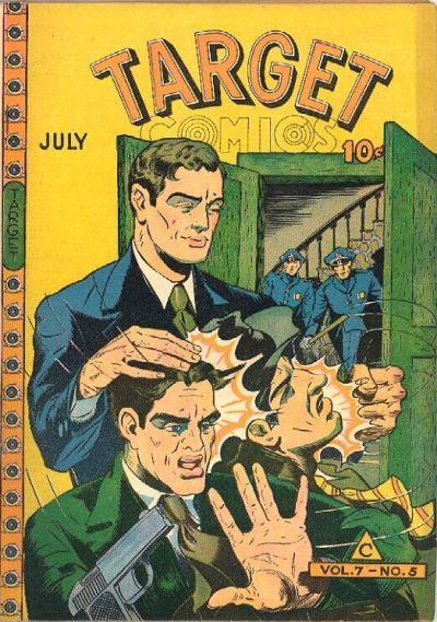 Cover for Target Comics (Novelty / Premium / Curtis, 1940 series) #v7#5 [71]