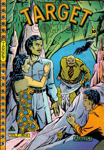 Cover for Target Comics (Novelty / Premium / Curtis, 1940 series) #v7#6 [72]