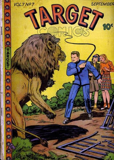 Cover for Target Comics (Novelty / Premium / Curtis, 1940 series) #v7#7 [73]
