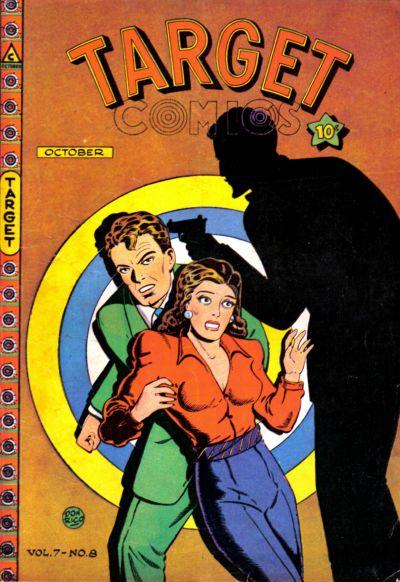 Cover for Target Comics (Novelty / Premium / Curtis, 1940 series) #v7#8 [74]
