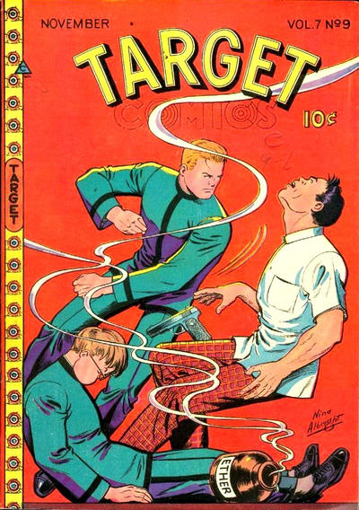 Cover for Target Comics (Novelty / Premium / Curtis, 1940 series) #v7#9 [75]