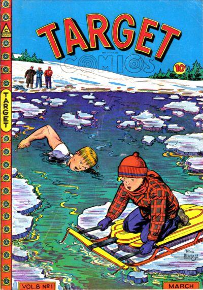 Cover for Target Comics (Novelty / Premium / Curtis, 1940 series) #v8#1 [79]