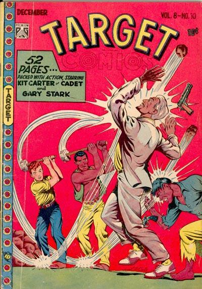 Cover for Target Comics (Novelty / Premium / Curtis, 1940 series) #v8#10 [88]