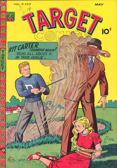 Cover for Target Comics (Novelty / Premium / Curtis, 1940 series) #v9#3 [93]
