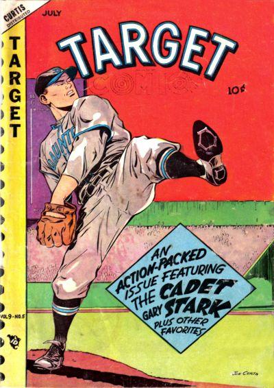 Cover for Target Comics (Novelty / Premium / Curtis, 1940 series) #v9#5 [95]