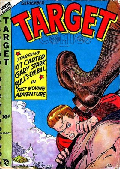 Cover for Target Comics (Novelty / Premium / Curtis, 1940 series) #v9#7 [97]
