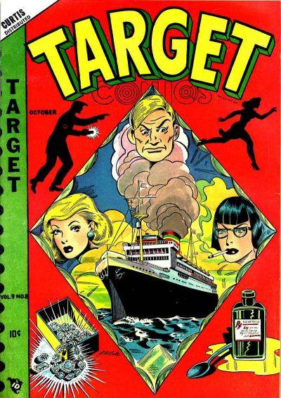 Cover for Target Comics (Novelty / Premium / Curtis, 1940 series) #v9#8 [98]