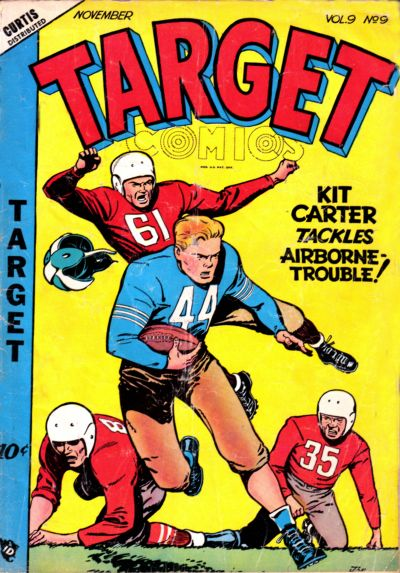Cover for Target Comics (Novelty / Premium / Curtis, 1940 series) #v9#9 [99]