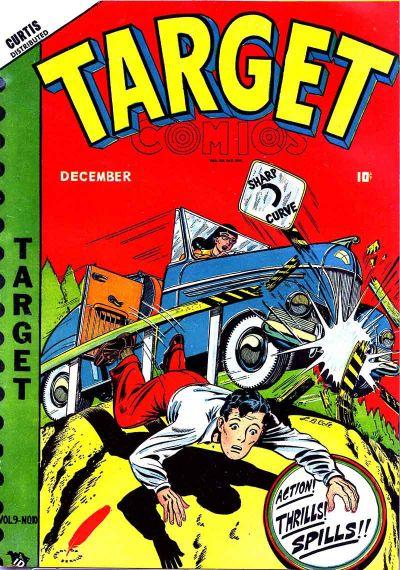 Cover for Target Comics (Novelty / Premium / Curtis, 1940 series) #v9#10 [100]