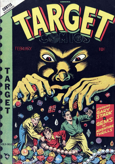 Cover for Target Comics (Novelty / Premium / Curtis, 1940 series) #v9#12 [102]