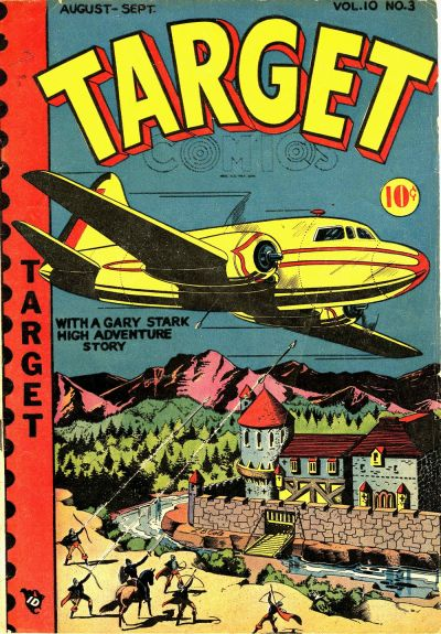 Cover for Target Comics (Novelty / Premium / Curtis, 1940 series) #v10#3 [105]