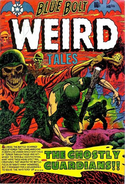 Cover for Blue Bolt Weird Tales of Terror (Star Publications, 1951 series) #116