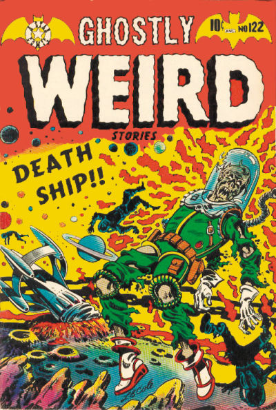 Cover for Ghostly Weird Stories (Star Publications, 1953 series) #122