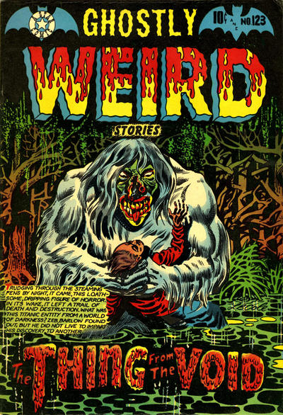 Cover for Ghostly Weird Stories (Star Publications, 1953 series) #123