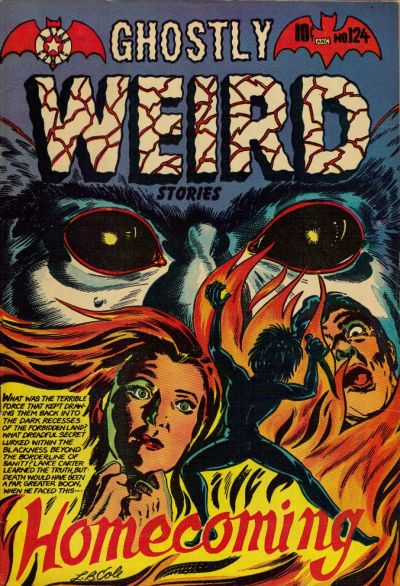 Cover for Ghostly Weird Stories (Star Publications, 1953 series) #124