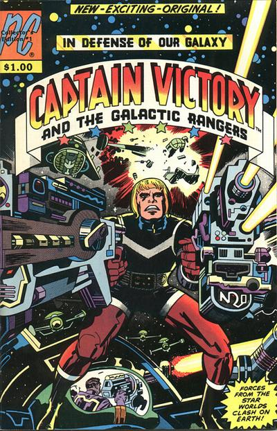 Cover for Captain Victory and the Galactic Rangers (Pacific Comics, 1981 series) #1