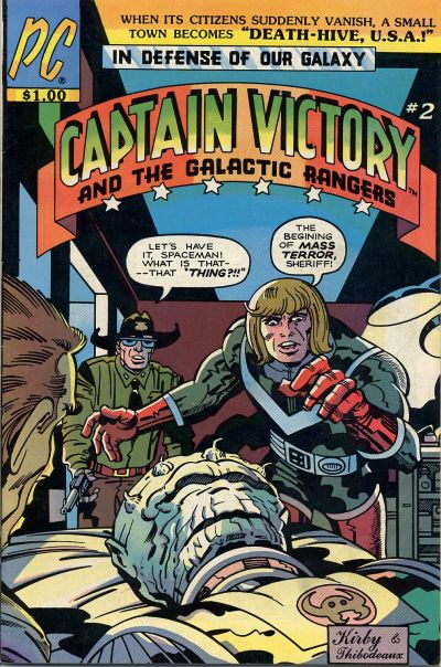 Cover for Captain Victory and the Galactic Rangers (Pacific Comics, 1981 series) #2