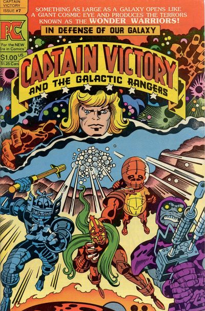 Cover for Captain Victory and the Galactic Rangers (Pacific Comics, 1981 series) #7