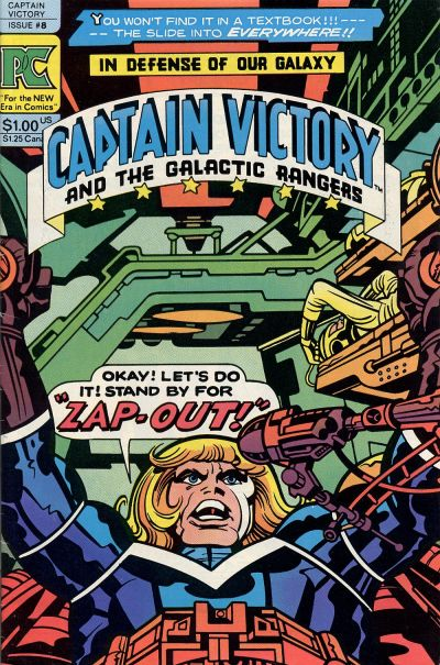 Cover for Captain Victory and the Galactic Rangers (Pacific Comics, 1981 series) #8