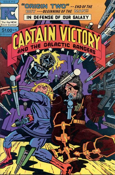 Cover for Captain Victory and the Galactic Rangers (Pacific Comics, 1981 series) #12