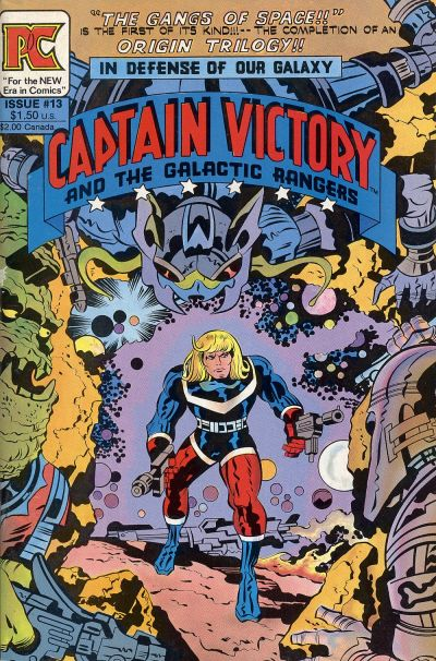 Cover for Captain Victory and the Galactic Rangers (Pacific Comics, 1981 series) #13