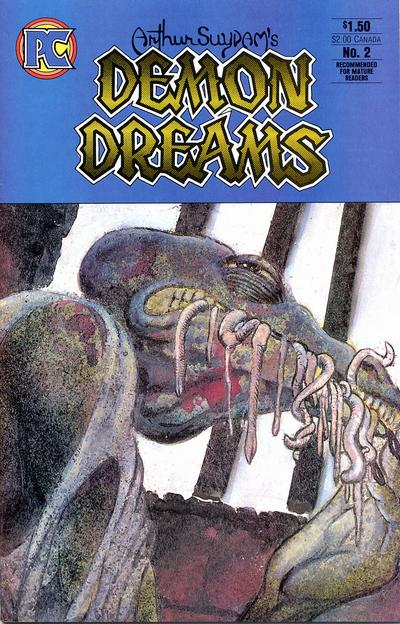Cover for Demon Dreams (Pacific Comics, 1984 series) #2