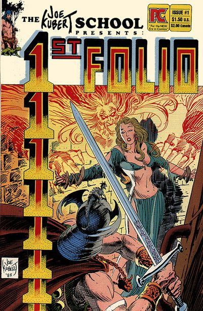 Cover for 1st Folio (Pacific Comics, 1984 series) #1