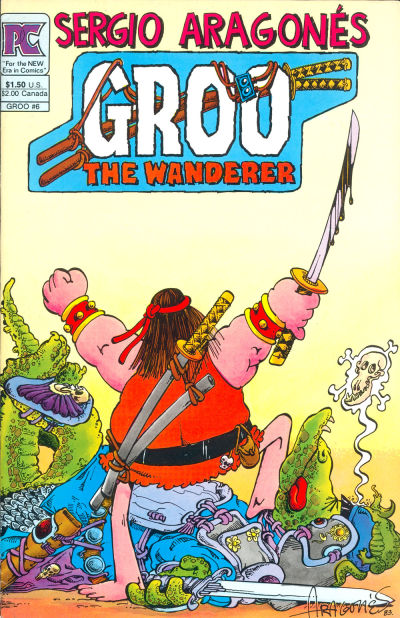 Cover for Groo the Wanderer (Pacific Comics, 1982 series) #6