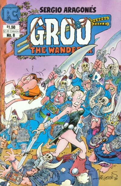 Cover for Groo the Wanderer (Pacific Comics, 1982 series) #8