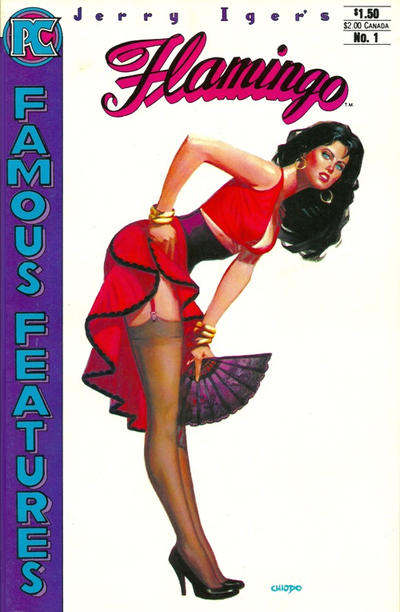 Cover for Jerry Iger's Famous Features (Pacific Comics, 1984 series) #1