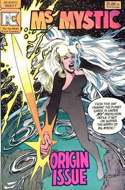 Cover for Ms. Mystic (Pacific Comics, 1982 series) #1