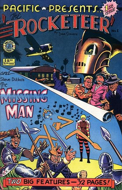 Cover for Pacific Presents (Pacific Comics, 1982 series) #1