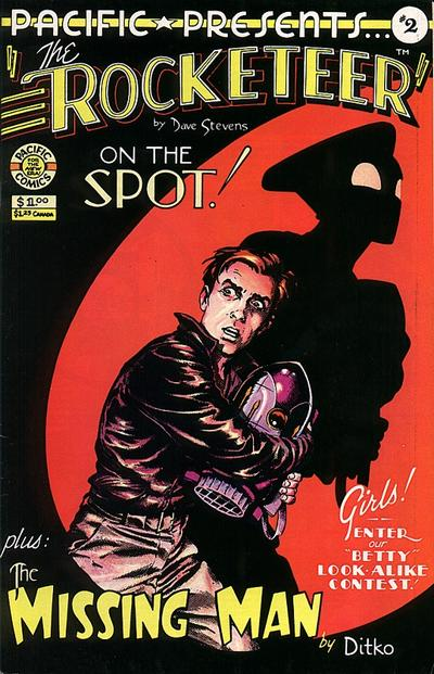 Cover for Pacific Presents (Pacific Comics, 1982 series) #2