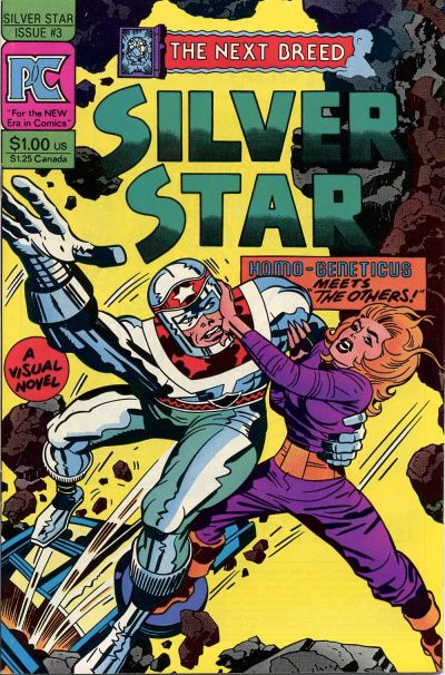 Cover for Silver Star (Pacific Comics, 1983 series) #3