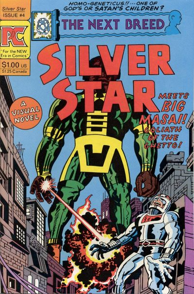 Cover for Silver Star (Pacific Comics, 1983 series) #4