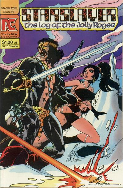 Cover for Starslayer (Pacific Comics, 1982 series) #5