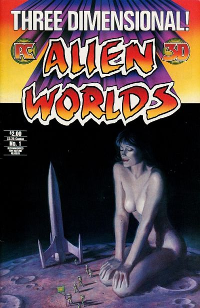 Cover for Three Dimensional Alien Worlds (Pacific Comics, 1984 series) #1