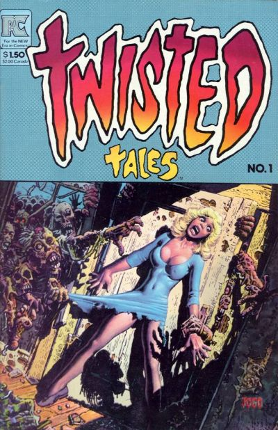 Cover for Twisted Tales (Pacific Comics, 1982 series) #1