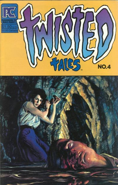 Cover for Twisted Tales (Pacific Comics, 1982 series) #4