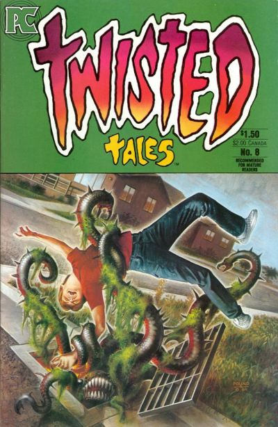 Cover for Twisted Tales (Pacific Comics, 1982 series) #8